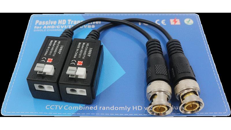Kit transmitator pasiv si receptor pasiv de semnal HD cu protectie la supratensiune - AMP-VT402L