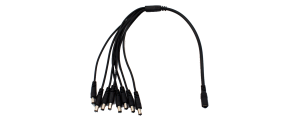 Cablu de alimentare tip splitter - Conectori 1 x mama, 8 x tata, CON-ALIM-SPLIT8