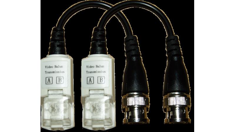 Kit transmitator pasiv si receptor pasiv de semnal cu protectie la supratensiune - AMP-VT203