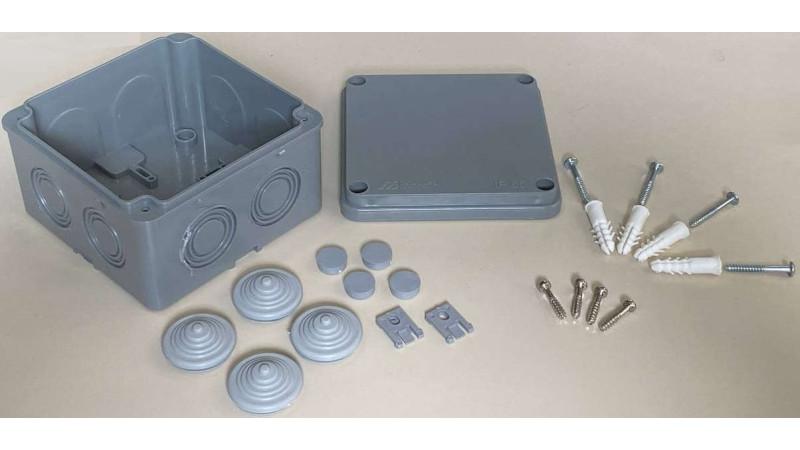 Cutie jonctiune pentru camere CCTV exterior sau interior, JNCT-110