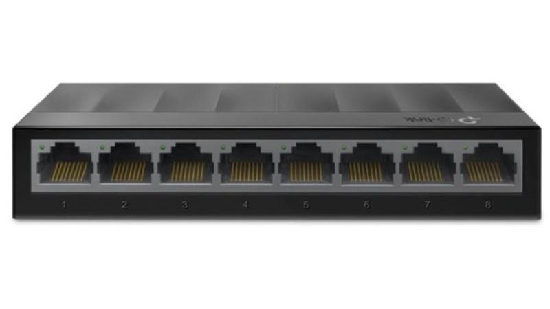 Switch de retea TP-LINK cu 8 porturi 10/100/1000Mbps