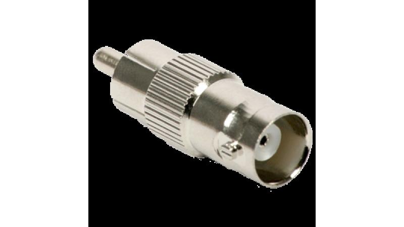 """Adaptor de la conector tip BNC """"TATA"""" la conector tip RCA """"TATA"""", CON-BNCRCAT"""