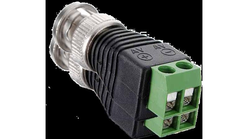 Conector BNC cu regleta pentru cablu UTP, CON-BNC-UTP