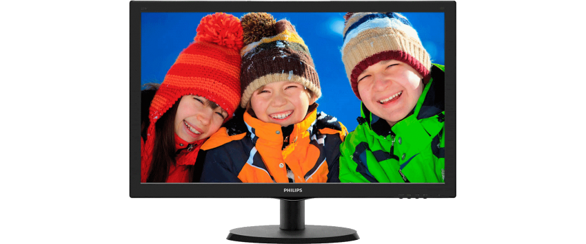 Monitor LCD PHILIPS 243V5QHABA 23.6'', Full HD 1920x1080, audio