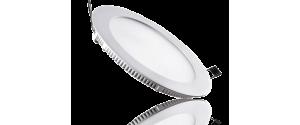 Panou LED Ultra Slim 18W lumina alba rotund 20cm