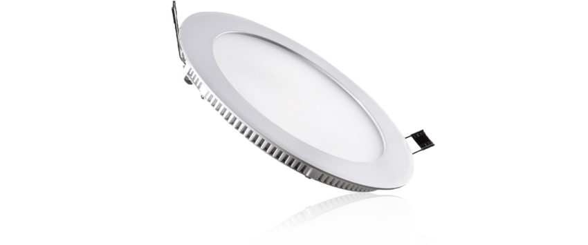 Panou LED Ultra Slim 18W lumina alba rotund 20cm