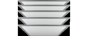 Pachet 5buc Panouri LED Ultra Slim 36W lumina alba 60x60cm