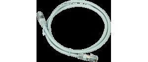 Patch cord UTP categoria 5e cu fir cupru plin lungime 0.5m