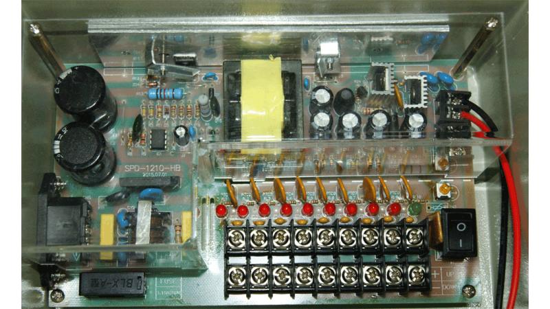 Sursa in comutatie cu back-up PSU-9C10BK- 12Vcc~14Vcc, 10A