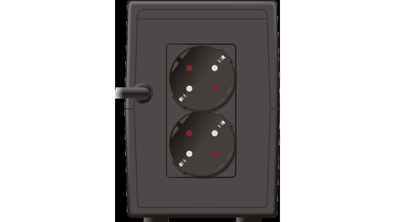 UPS MUSTEK PowerMust 848EG Line Interactive, 850VA, 480W