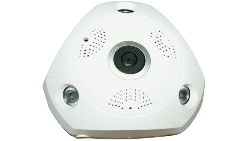 Camera de supraveghere IP Wireless HD  1280x960P  Panoramica 1.3MegaPixeli stocare card NEC-360W13