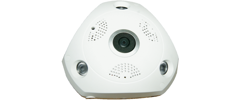 Camera de supraveghere IP Wireless HD 2304x1296P Panoramica 3MegaPixeli stocare card NEC-360W30