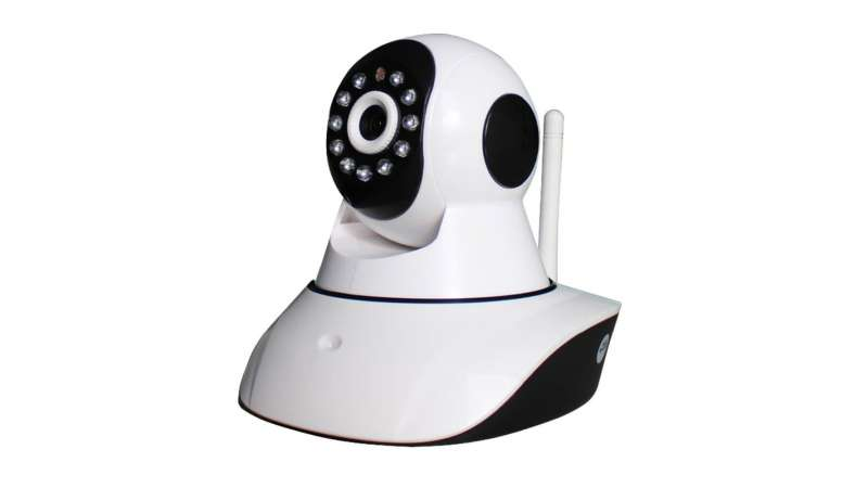 Camera de supraveghere IP wireless HD 960p interior cu infrarosu controlabila PT GN-RIC20-960p