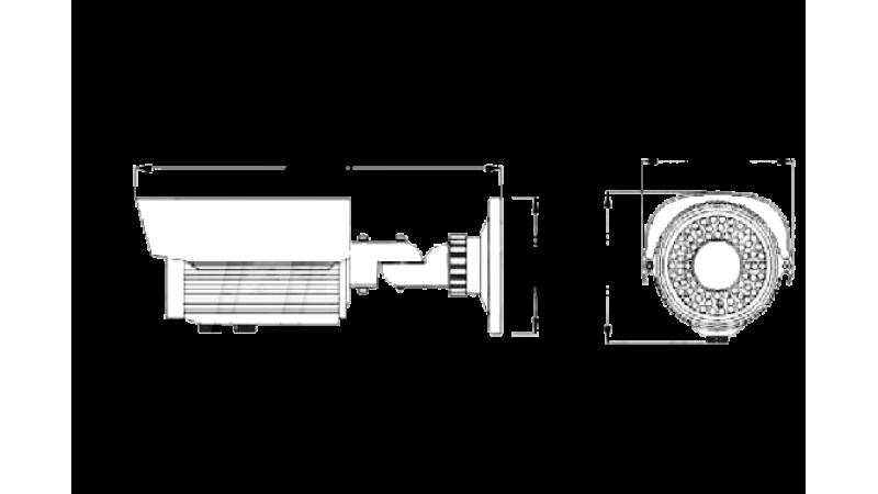 Camera de supraveghere exterior cu infrarosu RS-90ET