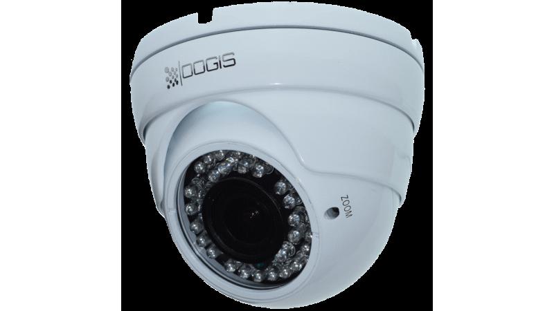 Camera de supraveghere OOGIS VAM-IP1080 ● Gama: EQU 2017 ● 1920x1080P 2MegaPixeli IP ONVIF Sony NIR Sensitivity UP ● Interior/Exterior antivandal ● 84-32° lentila Varifocala ● 30 InfraRosu 25 vizibil ●
