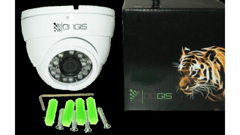 Camera de supraveghere OOGIS VPS-AHD15 ● Gama: ECO 2017 ● 1280x960P 1,3MegaPixeli, 1200 TVL AHD CVBS ● Exterior antivandal ● 86° lentila ● 25 InfraRosu 20 vizibil ●