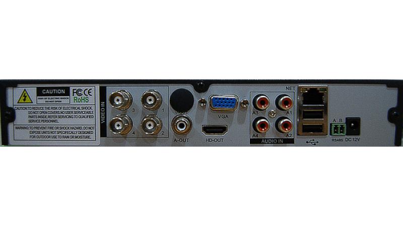 DVR/NVR/AHD Hibrid Stand Alone HVR-A6104