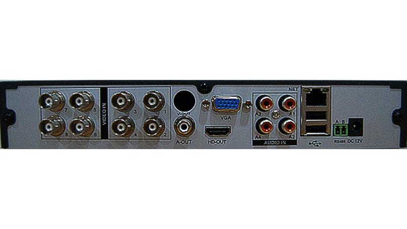 DVR/NVR/AHD Hibrid Stand Alone HVR-A6108