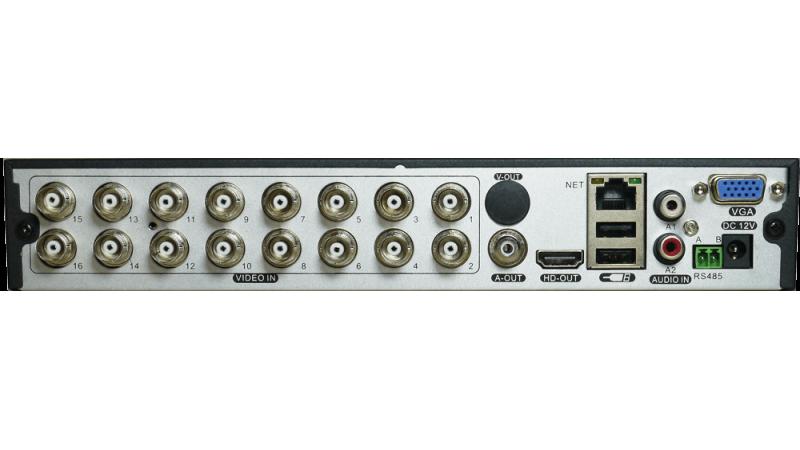 DVR/NVR AHD CVI TVI Pentabrid Stand Alone MHR-A6116