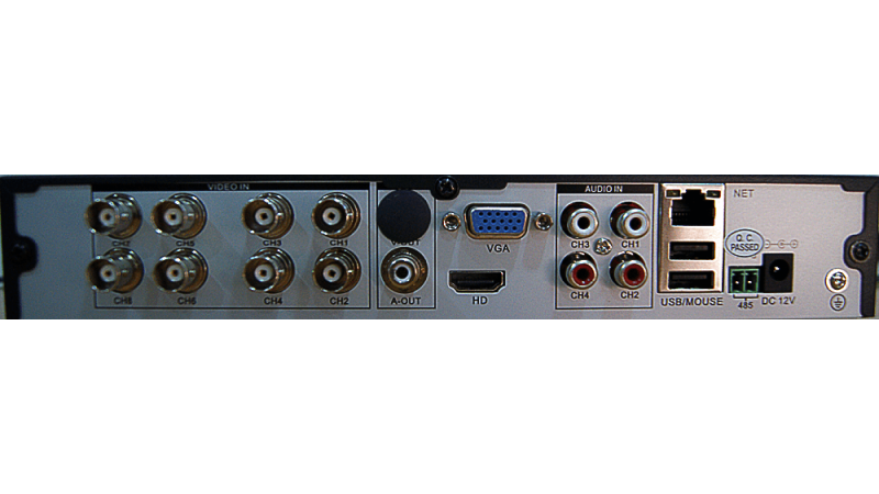 DVR/NVR AHD Hibrid Stand Alone AHR-A6108