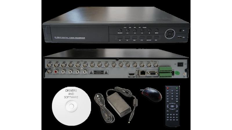 DVR Stand Alone DVR-5116