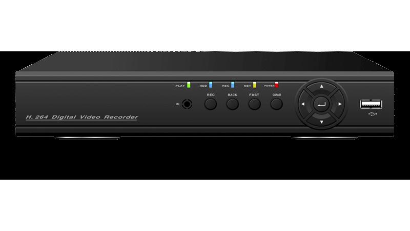 DVR/NVR AHD Hibrid Stand Alone Full HD AHR-E5104S