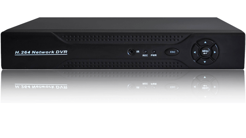 Sistem supraveghere video IP megapixel - 4 camere cu infrarosu exterior