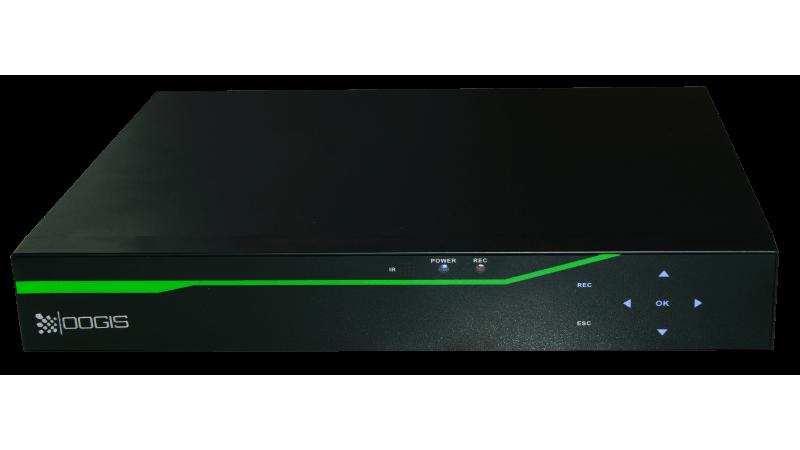 DVR NVR AHD TVI CVI Pentabrid Stand Alone 4 megapixel ESR-6408X