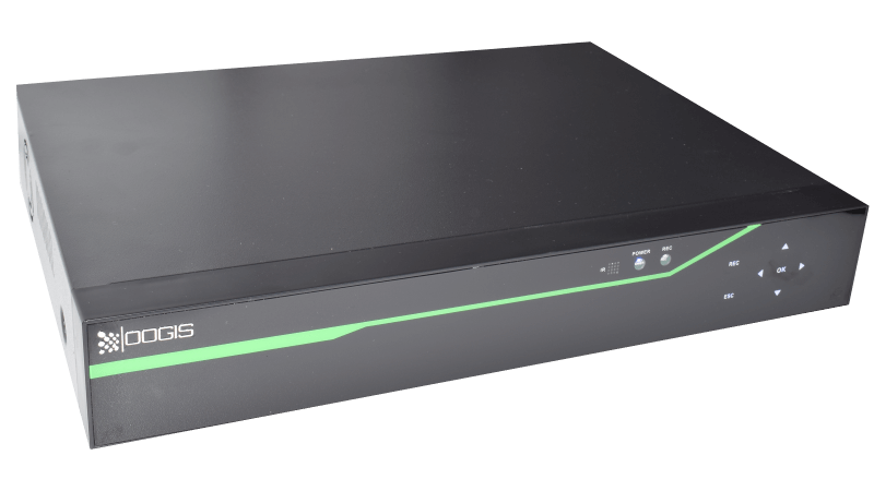 DVR/NVR H.265+ AHD/TVI/CVI Pentabrid Stand Alone 5MP ESR-6516X