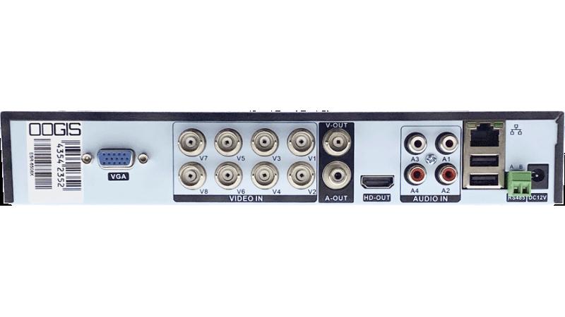 DVR/NVR H.265+ AHD/TVI/CVI Pentabrid Stand Alone 5MP ESR-6508X (v2)