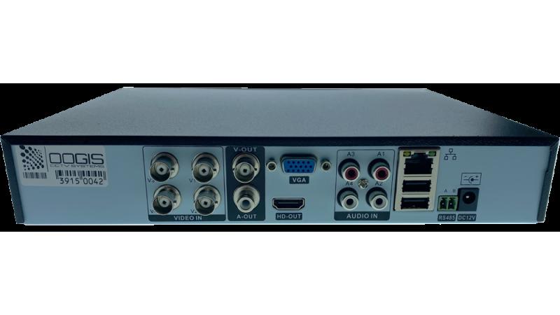 DVR/NVR H.265 AHD/TVI/CVI Pentabrid Stand Alone 5MP/N MHR-A6504