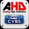 AHD CVBS, Camera DualStandard