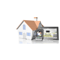 Sistem Supraveghere video COMPLET Exterior 2 Camere HD 1080P 2MP cu vedere noaptea IR 20M extensibil 4 1080N (1x Inregistrator MHR-A6204; 2x Camere Exterior BEN-MHD2; 1x HDD320GB-R Stocare CADOU si accesoriile incluse)