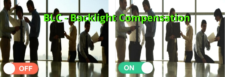 BLC - Backlight Compensation