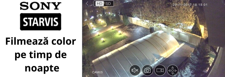 Tehnologia STARVIS transformă noaptea în zi