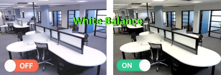 Functie White Balance